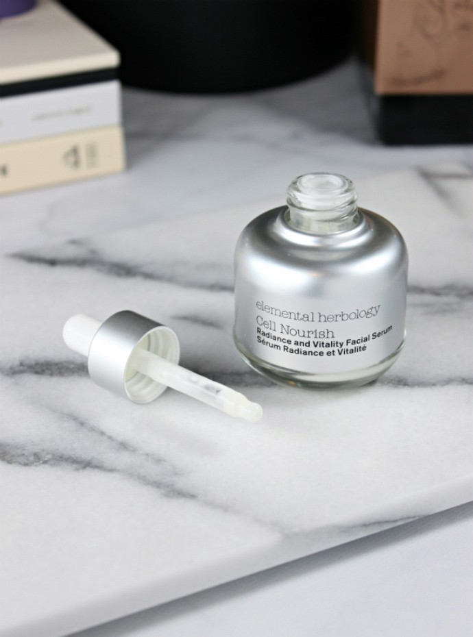 Elemental Herbology Cell Nourish Radiance and Vitality Serum Review | Non-toxic, Natural & Organic Skincare
