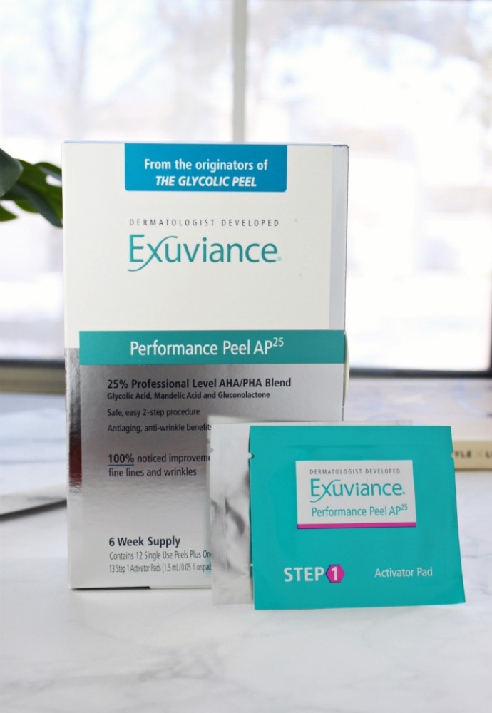 Exuviance Performance Peel AP25 Review | Non-irritating professional level peel at home