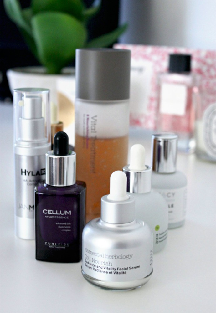 Skincare Wardrobe: Winter Ampoules, Essences, Serums for Combination/Dehydrated Skin