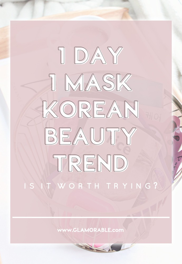 1 Day 1 Mask Skincare Challenge - Korean beauty trend | Is It Worth It?