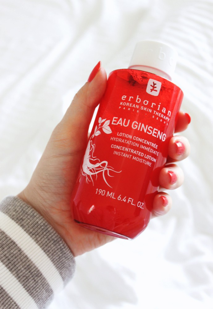 Korean skincare is all about moisturizing your skin! Check out my latest review of three Erborian Toners: Eau Ginseng, Yuza Double Lotion, Bamboo Matte Lotion