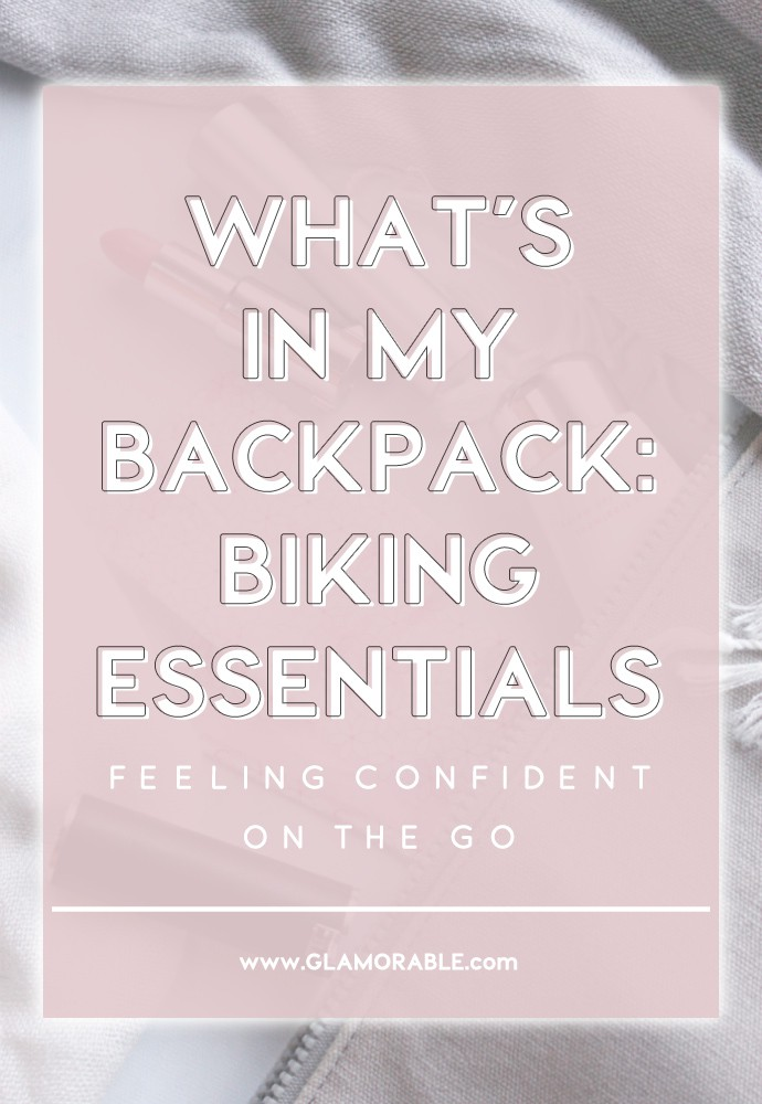 Peek Inside My Backpack | A Few Biking Essentials