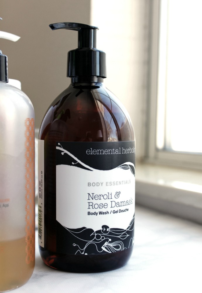 Natural, Clean & Non-Toxic Body Wash for Every Budget | Elemental Herbology Neroli & Rose Damask Body Wash