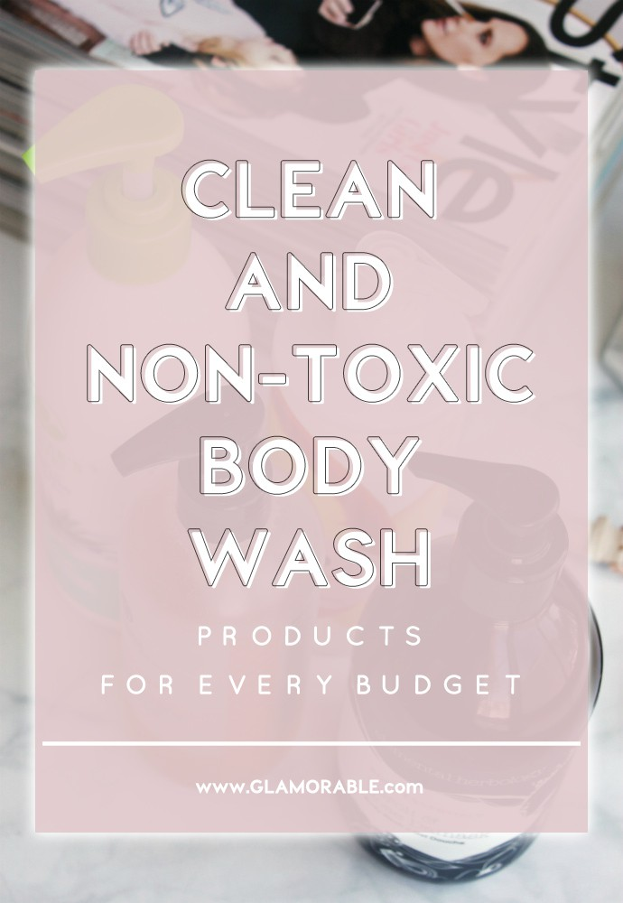 Natural, Clean & Non-Toxic Body Wash for Every Budget | 100% Pure Honey Cream Wash Gingerade, Nature's Gate Aloe Vera Body Wash, Elemental Herbology Neroli & Rose Damask Body Wash, Teadora Rainforest at Dawn Body Cleanser