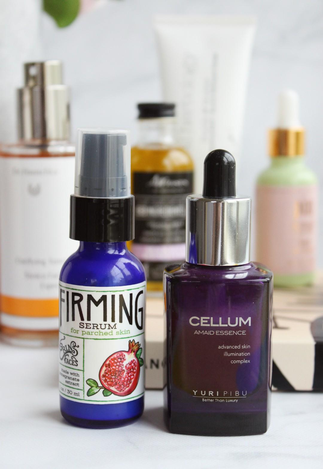 Clean, Natural, Non-Toxic Skincare Routine (Evening) | Erin's Faces Firming Serum, Yuri Pibu Cellum Amaid Essence