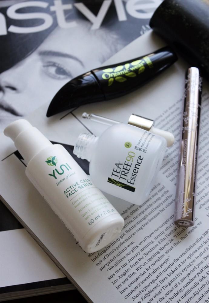 Skincare, makeup, supplement beauty empties