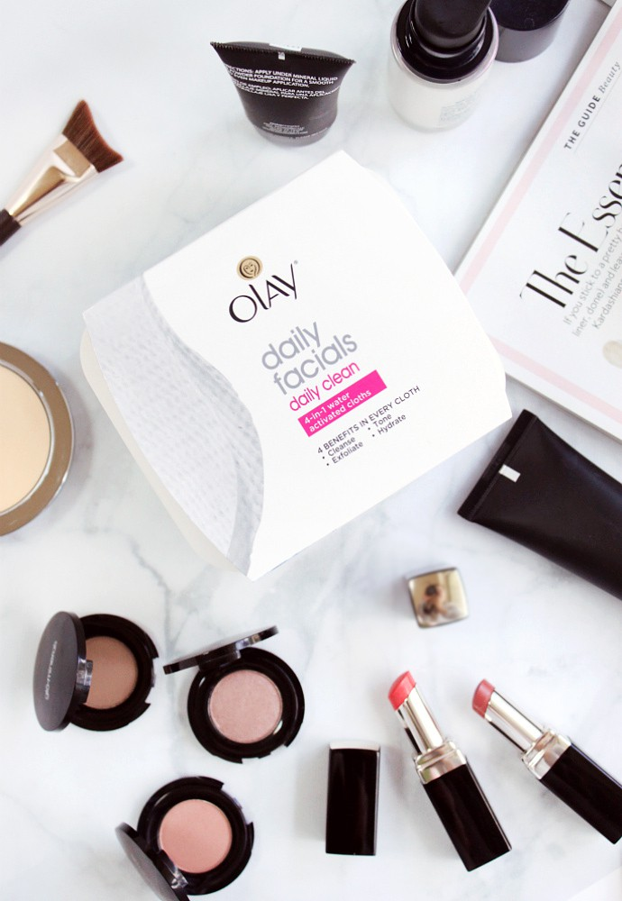 Minimalist Beauty: Deep Pore Cleanser & Face Wash for Combination Skin Olay Daily Facials