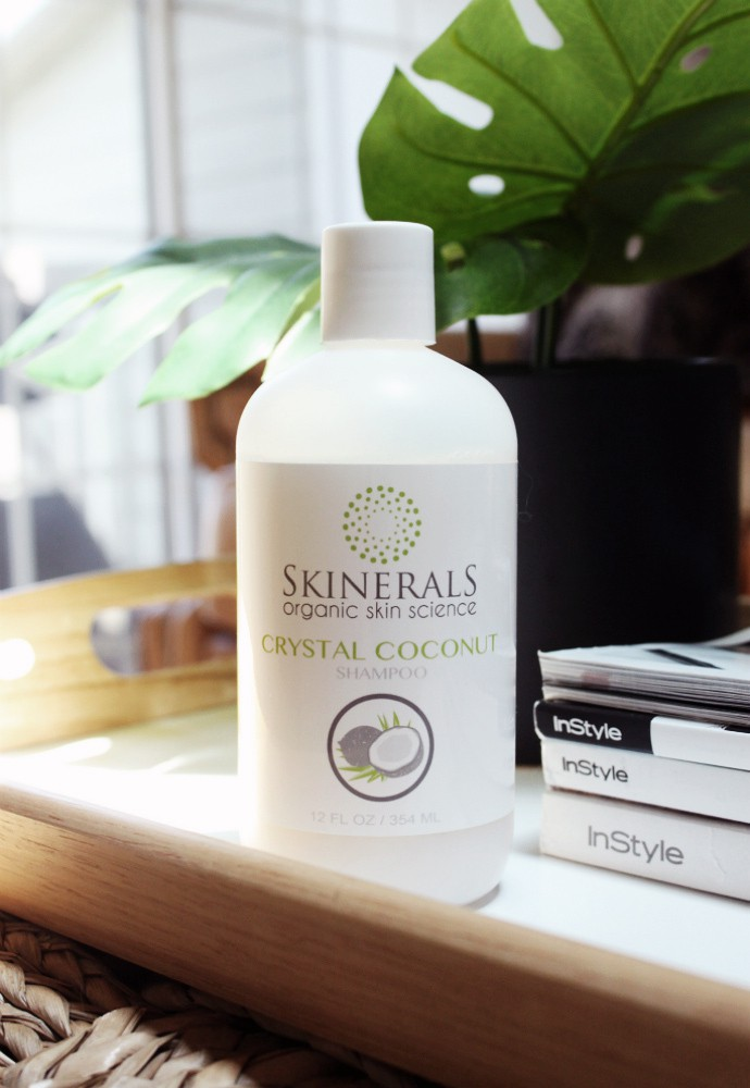 Natural & Organic Beauty from Skinerals, Crystal Coconut Shampoo