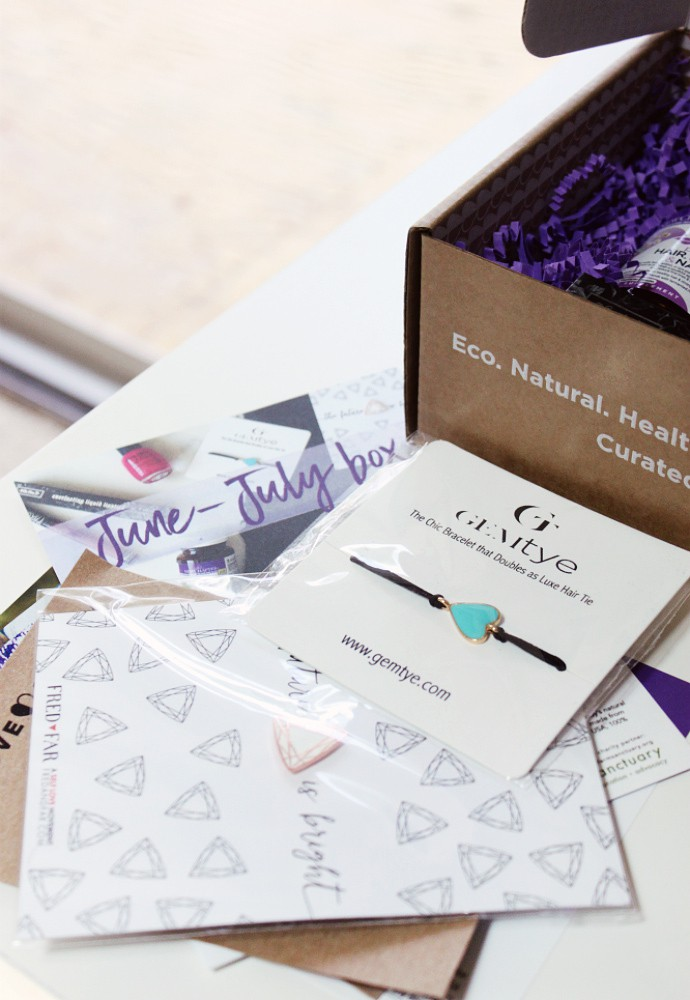 Love Goodly June/July 2017 Box Review - The best of cruelty-free, vegan, organic, non-GMO, non-toxic beauty products and lifestyle accessories.