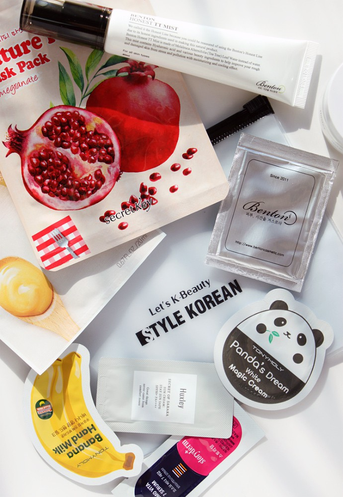 Stylekorean K-Beauty Haul & Mini-Reviews