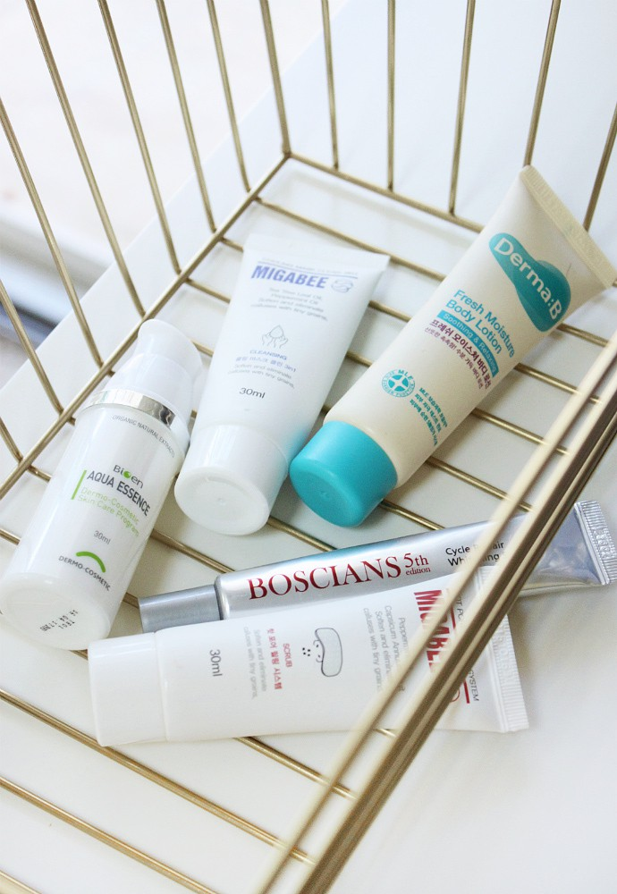 Korean Beauty Empties from old Memebox Boxes - via @glamorable