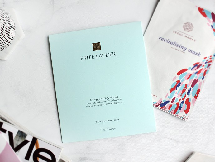 Estée Lauder Advanced Night Repair PowerFoil Mask Review