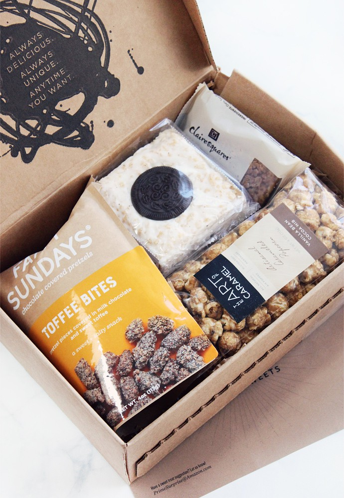 Amazon Prime Surprise Sweets August 2017 Box Review