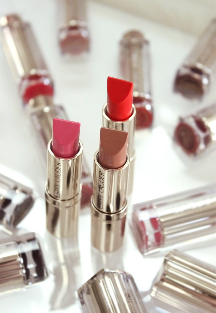 Estee Lauder Pure Color Love Lipstick Review & Swatches