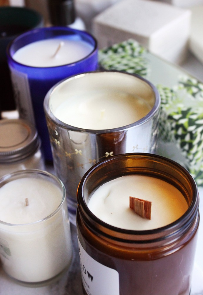 Best Holiday Candles to give as Gifts - viz @glamorable #candles #giftideas #hostessgifts #christmas #giftguide