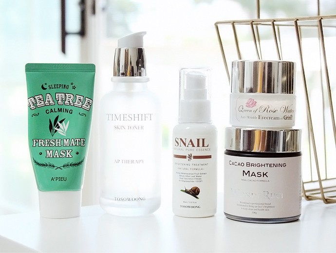 SKINCARE EMPTIES - PROJECT PAN | Skincare reviews of Tosowoong, Apieu, WondeRuci, Grinif products - via @glamorable #kbeauty #koreanskincare #empties #projectpan