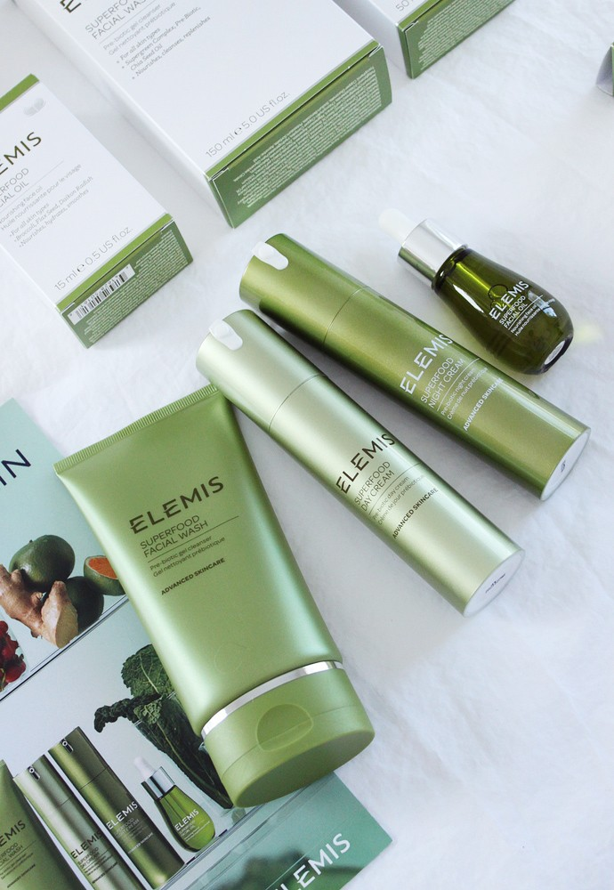 Elemis Review - Superfood Facial Wash, Superfood Facial Oil, Superfood Day Cream, Superfood Night Cream