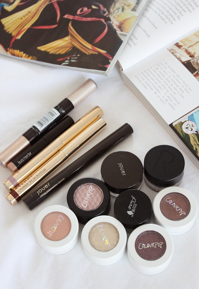 Massive Beauty Purge Project: Cream Eyeshadows