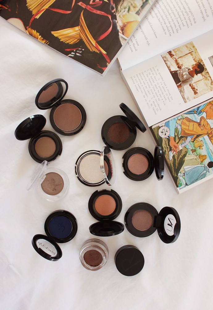 Beauty Purge Project: Powder Eyeshadow Singles