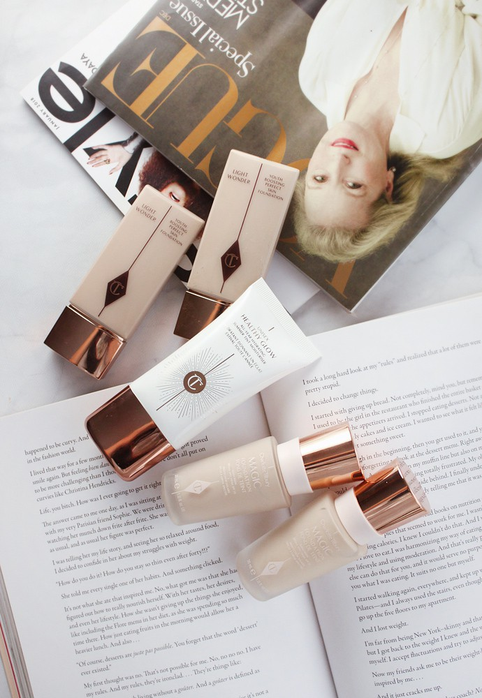 Charlotte Tilbury Foundation Review, Guide & Demo - via @glamorable #charlottetilbury