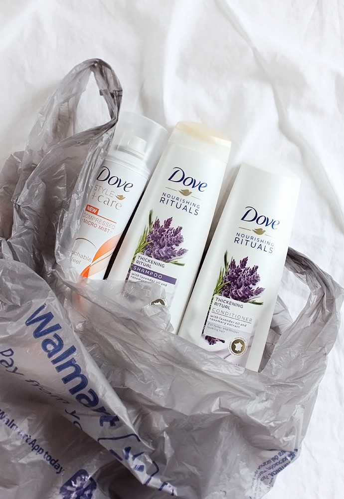 Dove Nourishing Rituals Shampoo & Conditioner.
