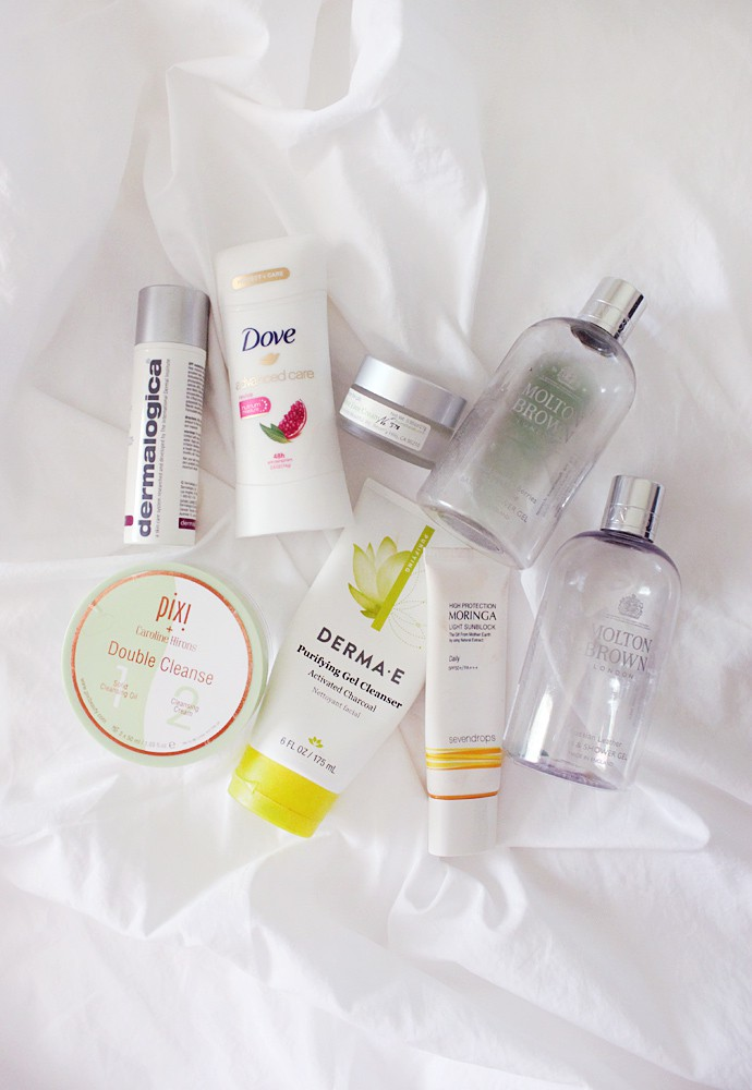 Empties Vol. 35 (skincare, body care)
