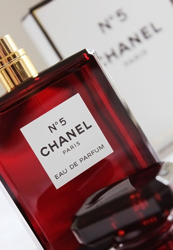 This Holiday Season Chanel N°5 is Available in Limited Edition Red Bottles
