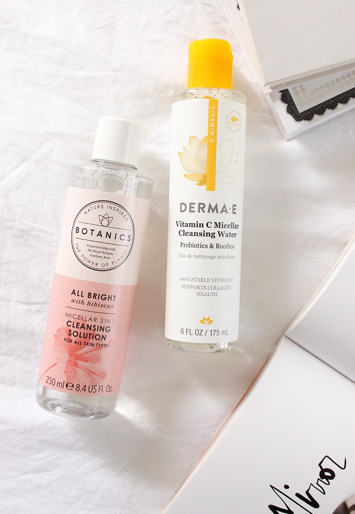 AM Routine: Using low pH Micellar Water Instead of Cleanser