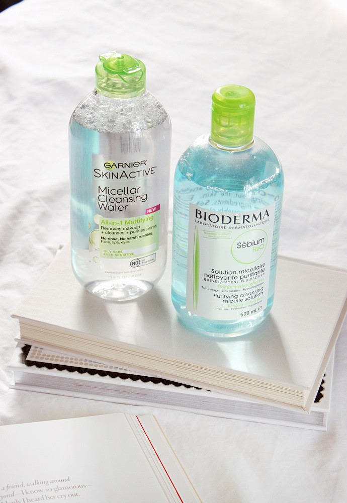 Am Routine Using Micellar Water Instead Of Cleanser