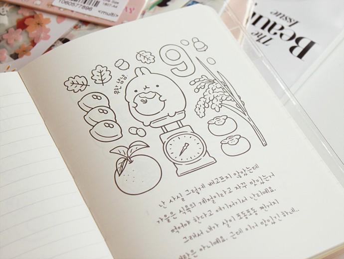BABOSARANG Molang Diary Ver.5 in Pink