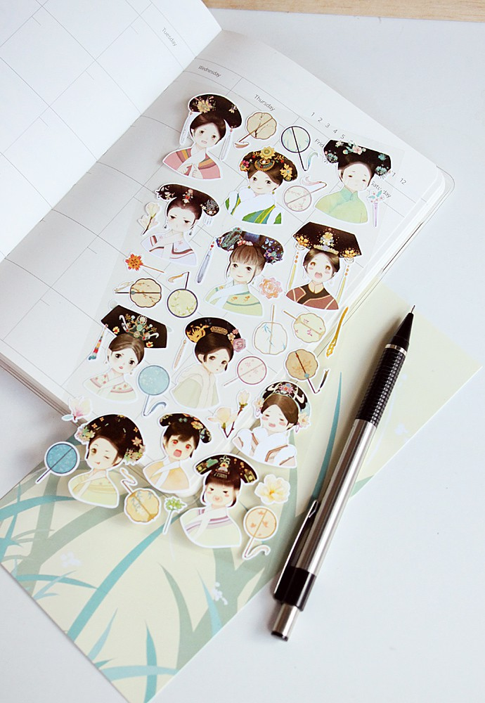 Homey House Printed Stickers Style 85107