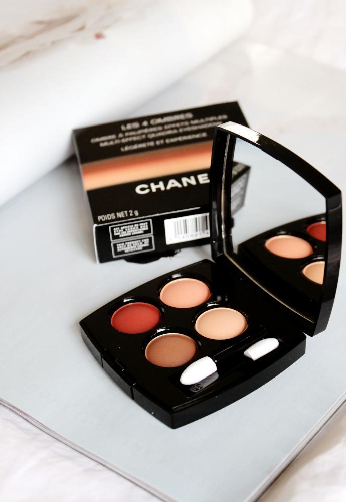 Chanel Les 4 Ombres Légèreté et Expérience