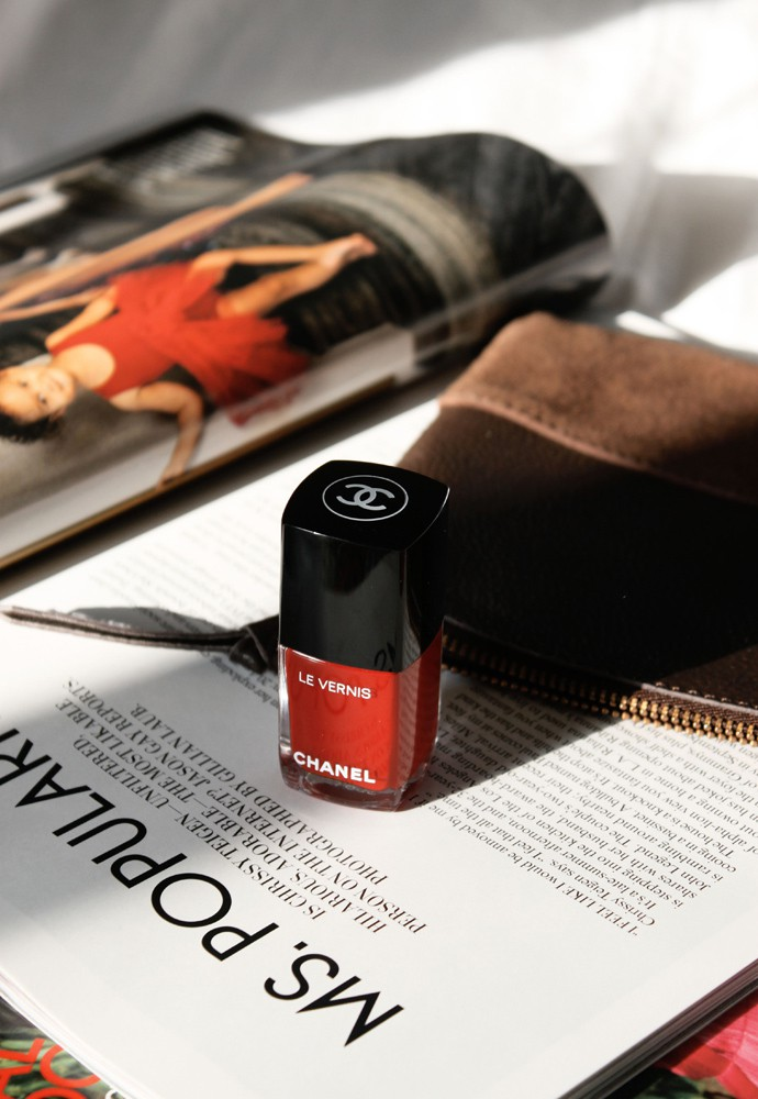 Best holiday gifts from CHANEL beauty - Le Vernis Rouge Puissant | @glamorable - via glamorable.com
