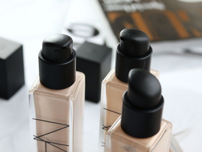 NARS Natural Radiant Longwear Foundation Review, Demo, Swatches