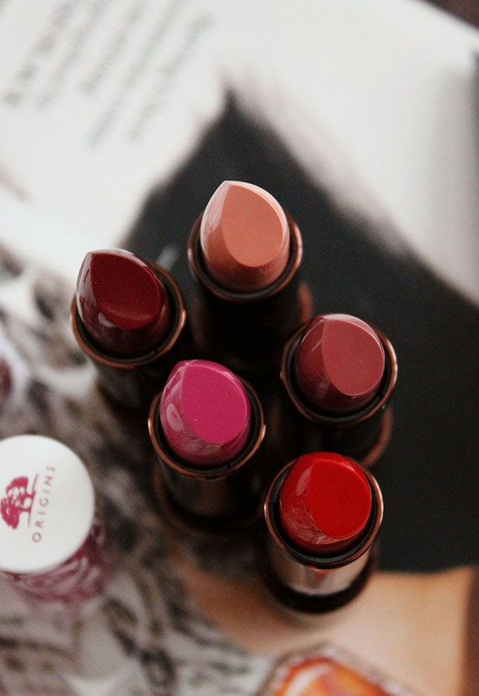 Origins Blooming Bold Lipstick & Sheer Lip Balm (swatches, review) - Glamorable