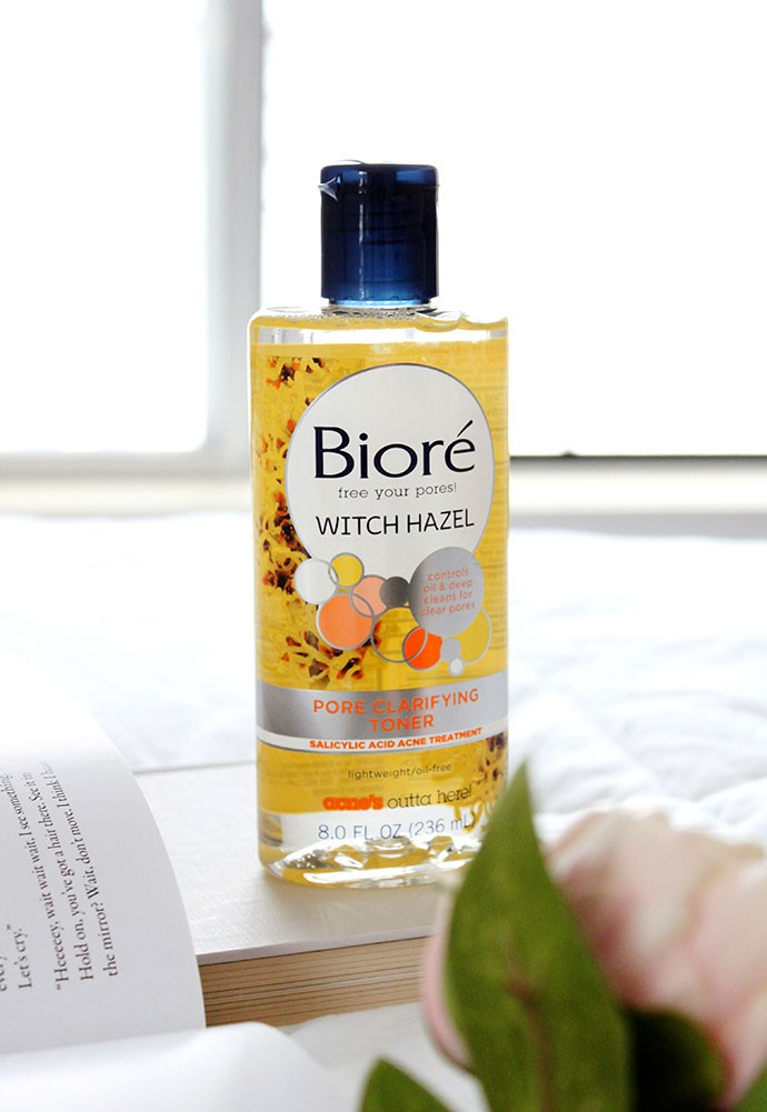 Biore Witch Hazel Ultra Deep Cleansing Pore Strips and Pore Clarifying Toner