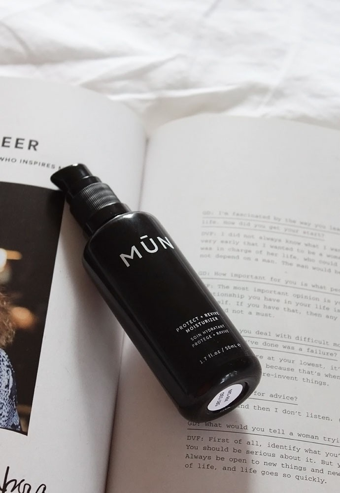MŪN Protect + Revive Moisturizer Review