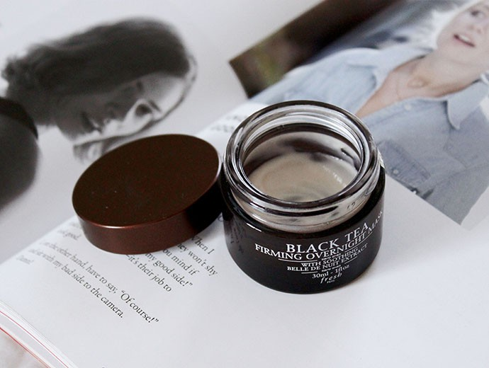 March Favorites: Skincare - Fresh Black Tea Firming Overnight Mask
