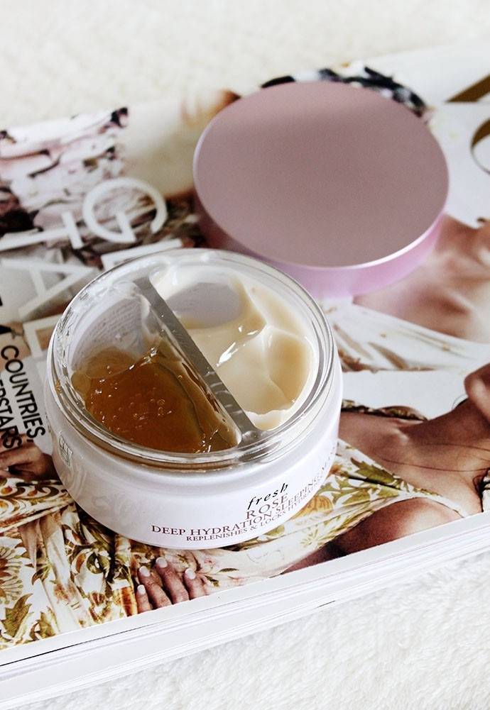 Fresh Rose Deep Hydration Sleeping Mask Review