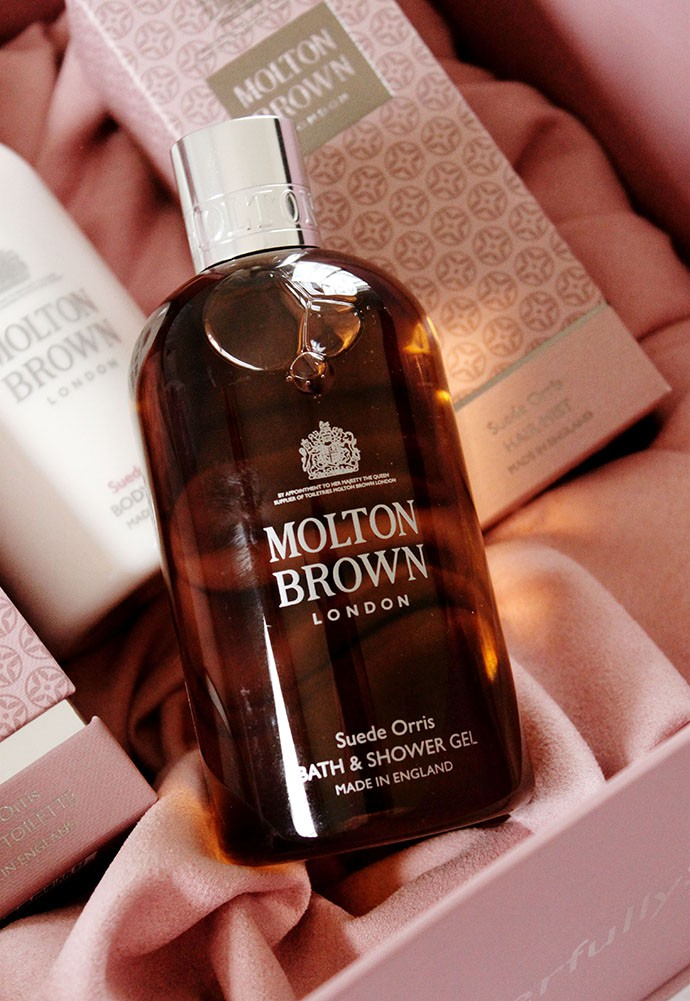 Molton Brown Suede Orris Collection