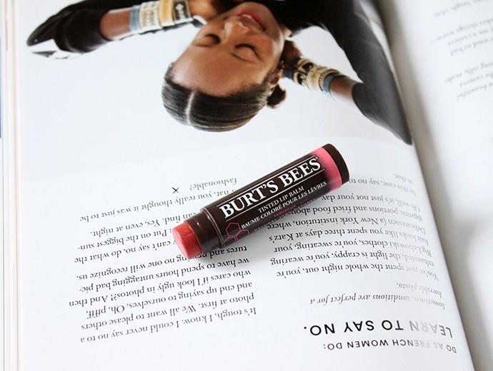 Recent Makeup Favorites - Burt's BeesTinted Lip Balm Hibiscus