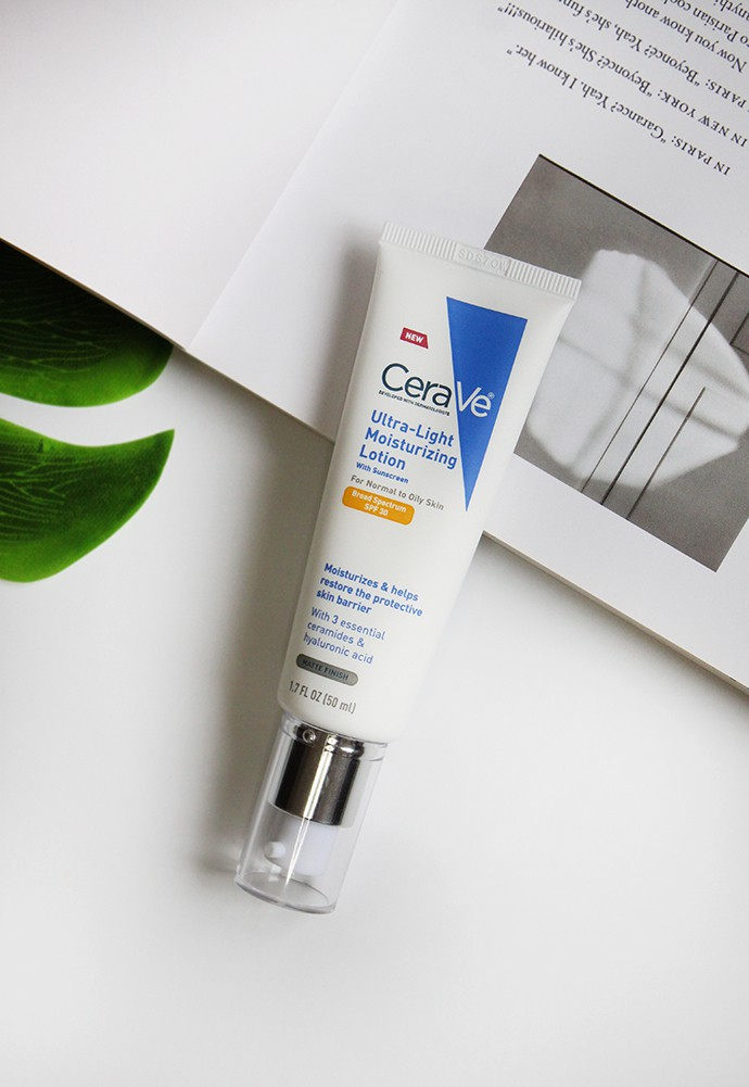 CeraVe Ultra-Light Moisturizing Lotion SPF 30 Review