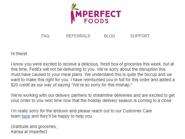 Imperfect Produce Review Coupon