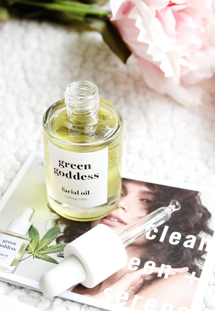 Avon Green Goddess CBD Facial Oil Review (my non-rep opinion)