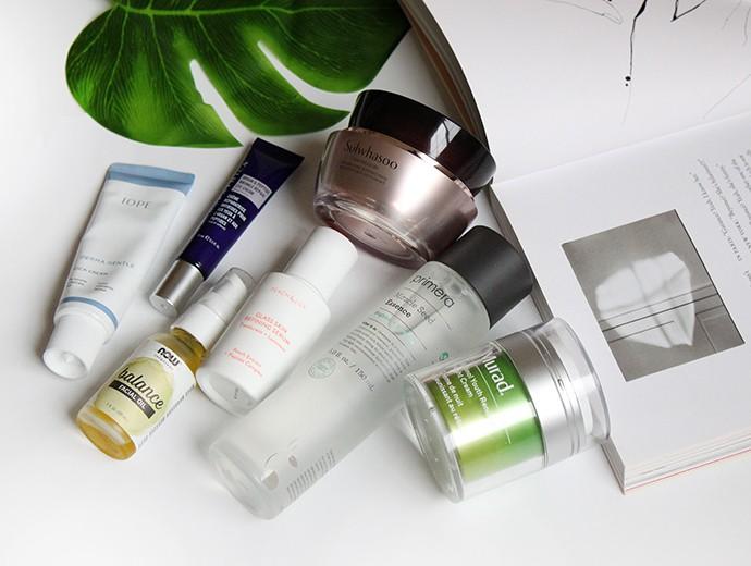 January Skincare Favorites
