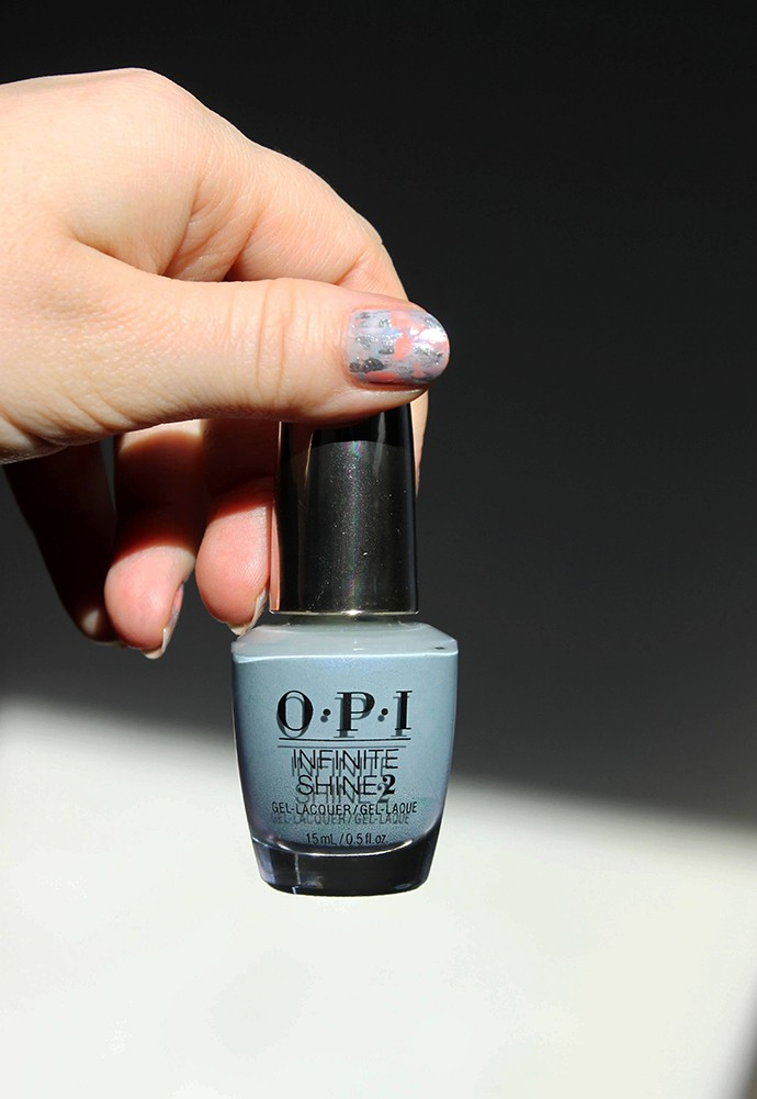 O.P.I Infinite Shine Gel-Lacquer Check Out the Old Geysirs