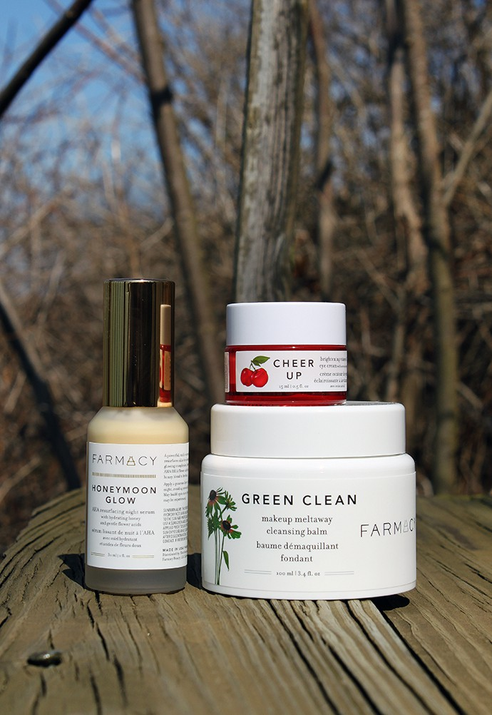 Farmacy Green Clean, Cheer Up, and Honeymoon Glow Review
