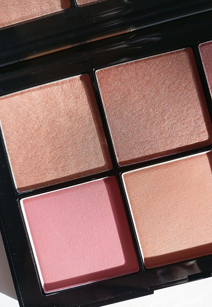 NARS Afterglow & Overlust Palettes (swatches & review)