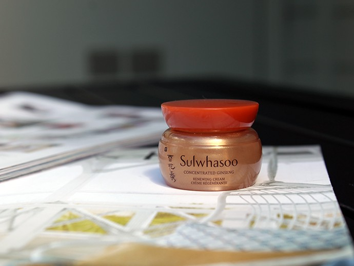 Skincare Empties Sulwhasoo Concentrated Ginseng Renewing Cream Mini Review
