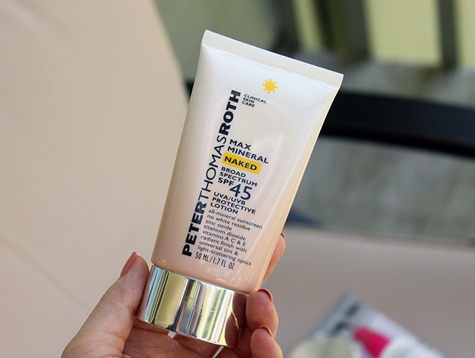Peter Thomas Roth Max Mineral Naked Broad Spectrum SPF 45 Lotion review